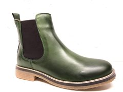 Chelseaboots green